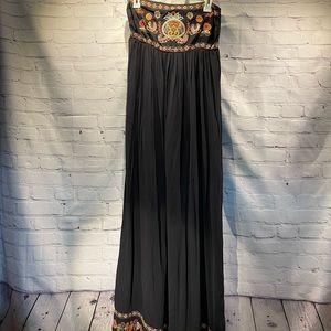 Bohemian style Exhilaration maxi dress